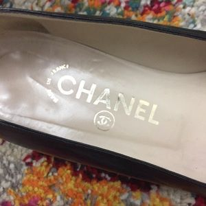 CHANEL Shoes - CHANEL Size 36 Black Caviar Shoes right foot only